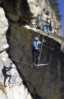 Klettersteig St. Jodok